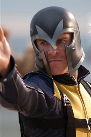 iPhone Wallpaper Magneto in X-Men: First Class