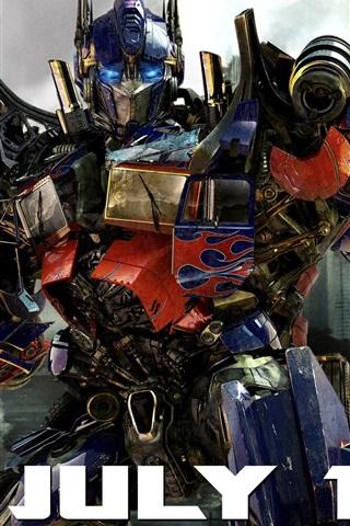 iPhone Hintergrundbilder Optimus Prime Transformers 3