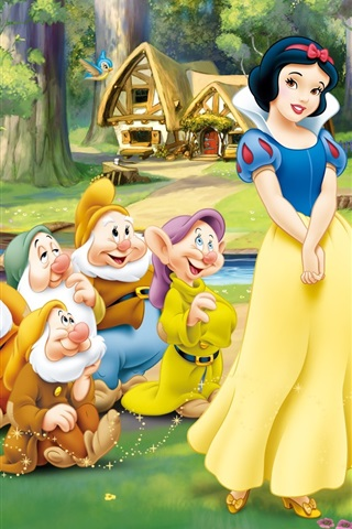 Snow White and the Seven Dwarfs 640x960