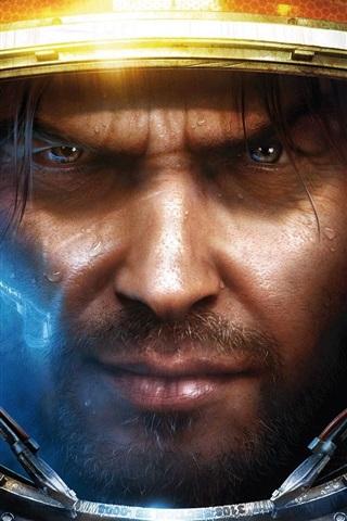iPhone Papéis de Parede StarCraft II Humanos