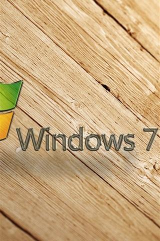 iPhone 배경 화면 Windows7 나무 배경