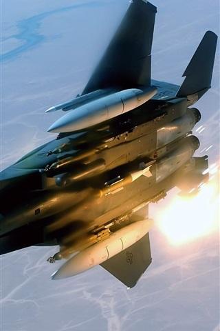 iPhone 배경 화면 항공기 미사일 발사
