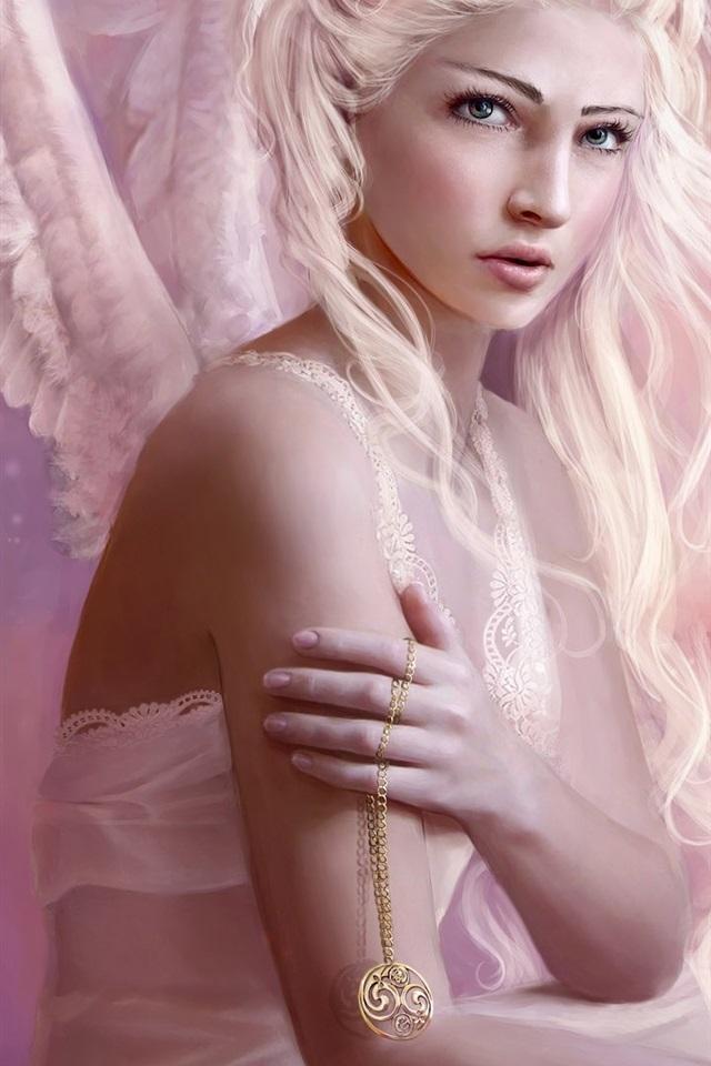 фото ангел с белыми волосами причин, которые