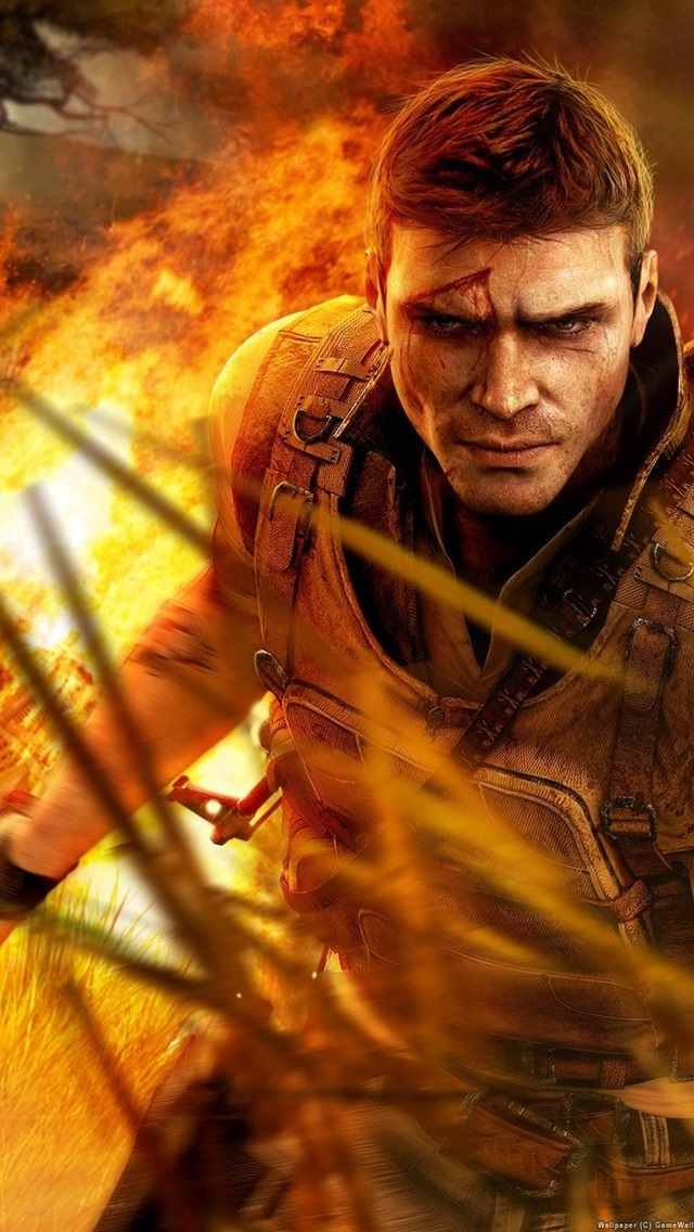 Far Cry 2 640x1136 Iphone 5 5s 5c Se Wallpaper Background