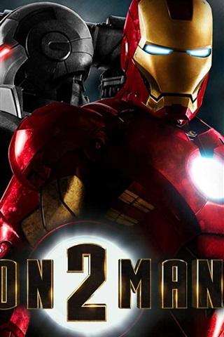 iPhone 배경 화면 아이언 맨 (Iron Man) 2