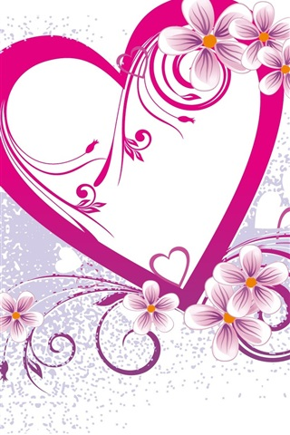 iPhone Wallpaper Love and heart