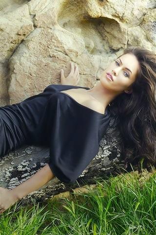 iPhone Papéis de Parede Megan Fox 01