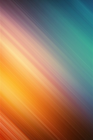 iPhone Wallpaper Orange and blue twill background