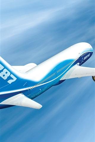 iPhone Wallpaper Plane 787