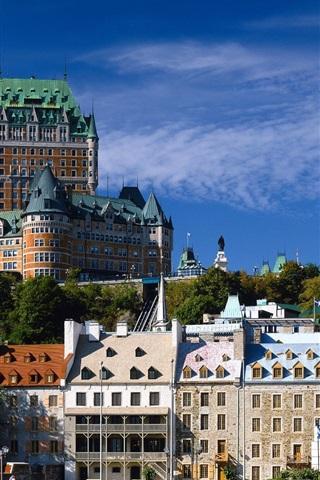 iPhone 배경 화면 퀘벡 시티 캐나다