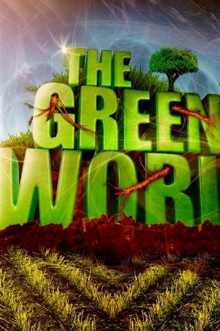 iPhone Papéis de Parede O mundo verde