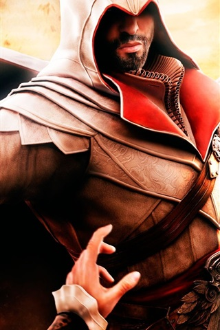 iPhone Wallpaper Assassin's Creed: Brotherhood HD