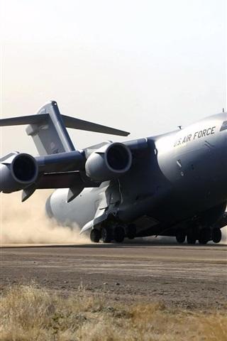 iPhone 배경 화면 B - 52 비상 착륙