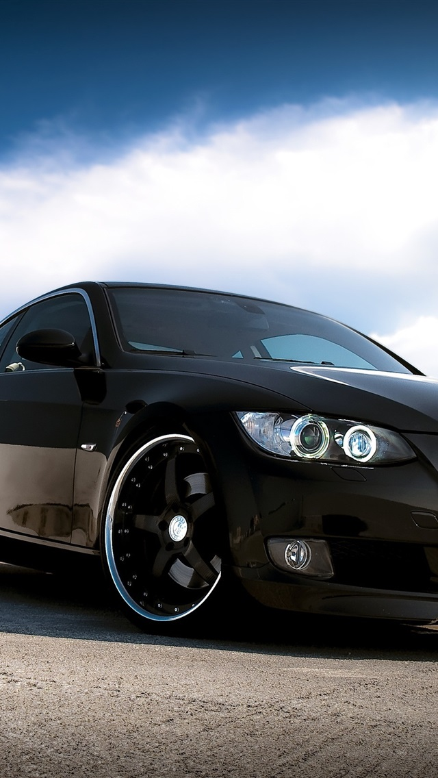 Bmw Car Black Color 750x1334 Iphone 8 7 6 6s Wallpaper Background Picture Image