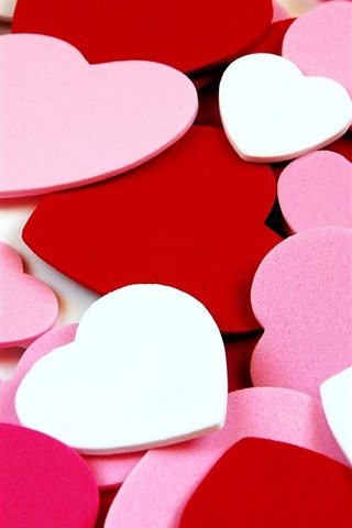 Love Heart Shaped Background 640x1136 Iphone 5 5s 5c Se
