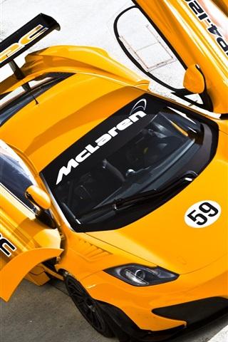 iPhone 배경 화면 맥라렌 MP4 - 12C supercar