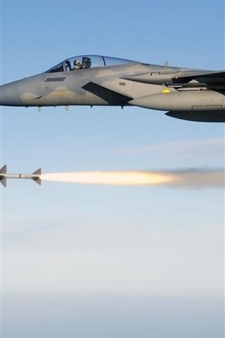 iPhone 배경 화면 맥도넬 더글러스 F - 15 이글
