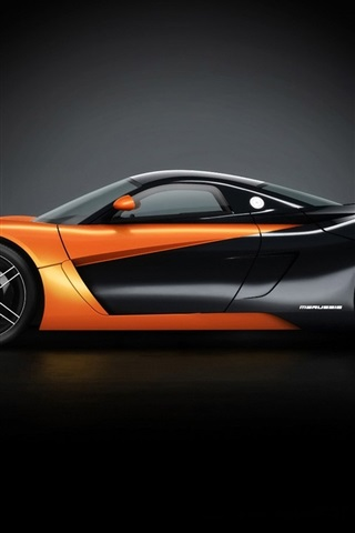 iPhone 배경 화면 오렌지 2010 Marussia B1