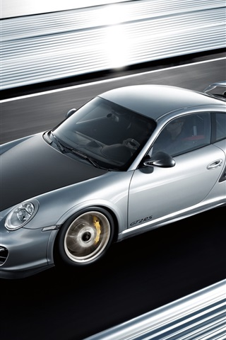 iPhone 배경 화면 포르쉐 911 GT2 RS 2010
