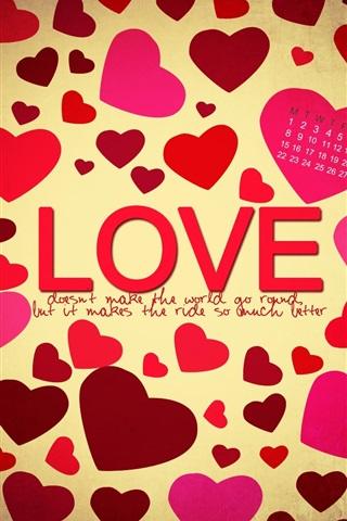 iPhone Wallpaper Valentine's Day Love