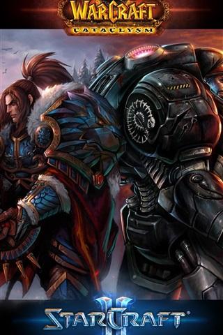 iPhone Papéis de Parede Warcraft Starcraft 2