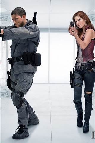 iPhone Wallpaper 2010 Resident Evil: Afterlife