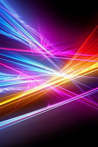 iPhone Papéis de Parede Linha de luz abstrata