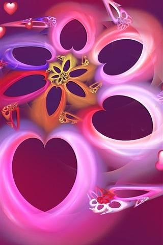 iPhone 배경 화면 꿈은 심장을 사랑