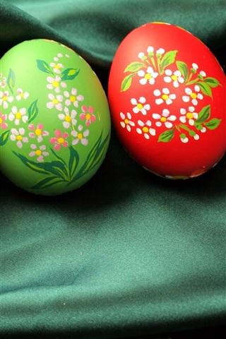 iPhone 배경 화면 부활절 달걀 예술