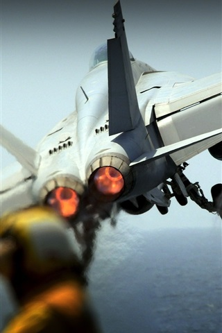 iPhone Wallpaper Fighter aircraft photo