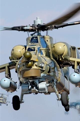 iPhone 배경 화면 군사 헬리콥터 플라잉