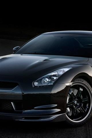 iPhone 배경 화면 닛산 GT - R V 스펙 자동차