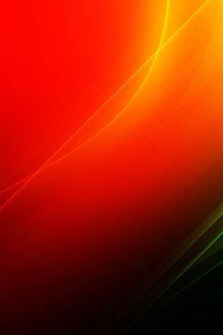 iPhone 배경 화면 적색과 녹색의 추상적인 배경