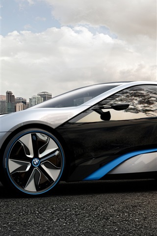 Bmw I8 Concept 2011 640x1136 Iphone 5 5s 5c Se Wallpaper Background