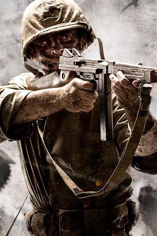 iPhone Wallpaper Call of Duty: World at War
