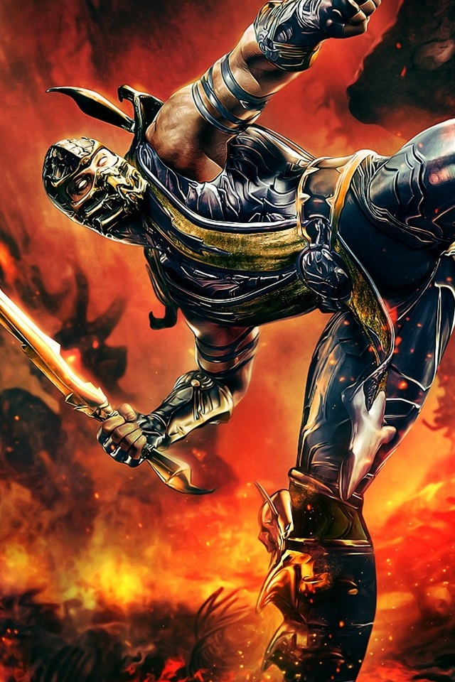 Mortal Kombat 640x960 Iphone 44s Wallpaper Background