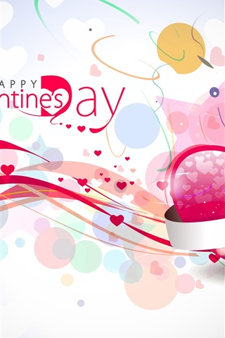 iPhone Wallpaper Pink Valentine's Day