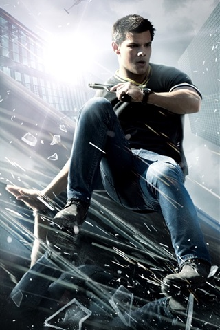iPhone Wallpaper Taylor Lautner in Abduction