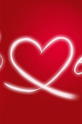 iPhone Wallpaper Valentine day love red