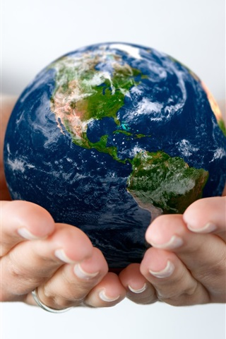 iPhone 배경 화면 우리 지구의 관리
