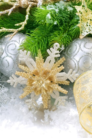 iPhone Wallpaper Christmas decorations