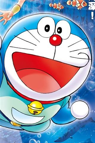 iPhone 배경 화면 도라에몽 만화