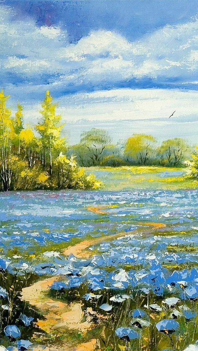Wallpaper Landscape Oil Painting 1920x1200 Hd Picture Image