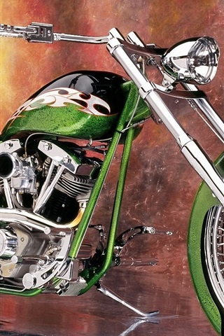 iPhone 배경 화면 오토바이 정의 녹색 슈퍼 좋은
