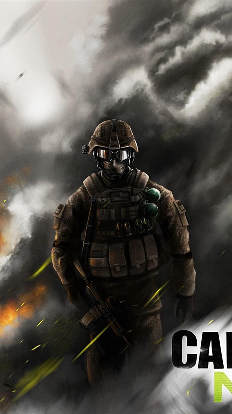Pc Game Call Of Duty Modern Warfare 3 750x1334 Iphone 8 7 6 6s