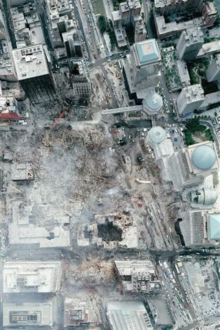 iPhone 배경 화면 매우 높은 정의 위성 WTC 사진