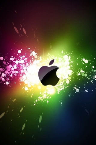 iPhone 배경 화면 애플 활력 스파크