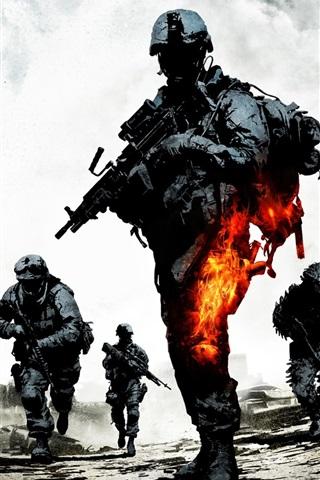 iPhone Wallpaper Battlefield: Bad Company 2