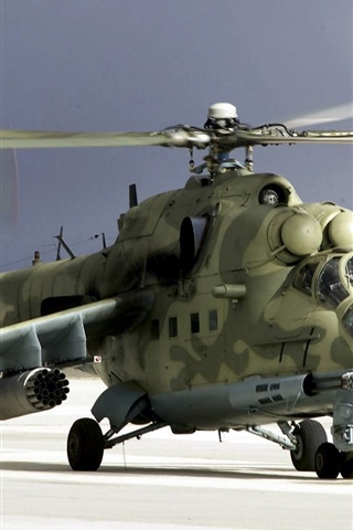 iPhone Wallpaper Camouflage military helicopter