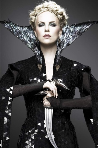 iPhone Wallpaper Charlize Theron in Snow White and the Huntsman